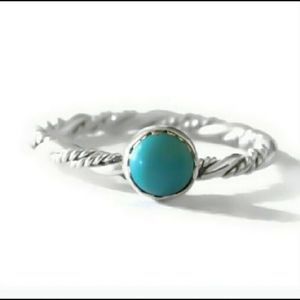 💙.925 Sterling silver/turquoise ring💙